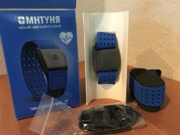 Scosche RHYTHM+  Heart Rate Monitor - Blue - Never Worn - Li