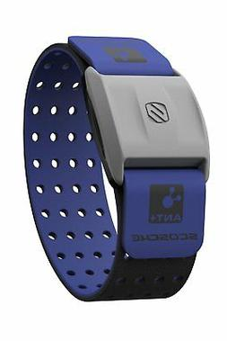 Scosche Rhythm+ Replacement Strap - Blue Velcro Strap For Sc