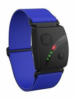 Scosche Rhythm24 - Waterproof Armband Heart Rate Monitor Blu