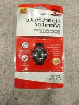Sportline S7 Slim Heart Rate Monitor Watch Fitness