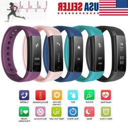 Smart Bracelet Heart Rate Monitor Blood Step Counter Fit*Bit