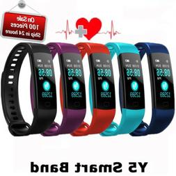 Smart Bracelet Watch Heart Rate+Blood Pressure Monitor Fitne