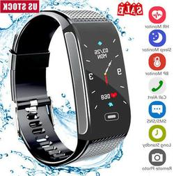 Smart Bracelet Wristband Fitness Tracker Heart Rate Blood Pr