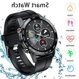 Smart Watch Blood Pressure Heart Rate Monitor Sports Fitness