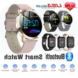 Smart Watch Blood Pressure Heart Rate Monitor Bracelet Women