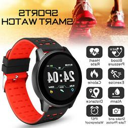 Smart Watch Bracelet Wristband Blood Pressure Heart Rate Mon