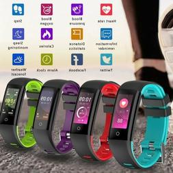 Smart Watch Bracelet Wristband Fitness Tracker Blood Pressur