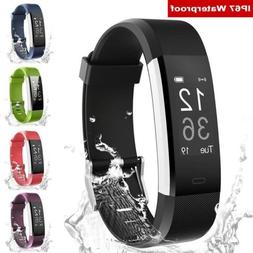 Smart Watch Bracelet Wristband sports Tracker Blood Pressure