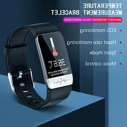 smart watch ecg blood oxygen pressure heart