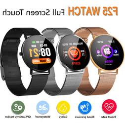 Smart Watch F25 Pulse Rate Monitor Blood Pressure Health Tra