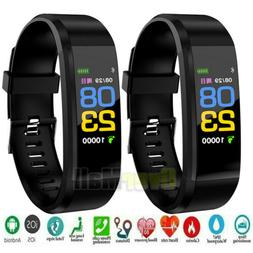 Smart Watch Fit**bit Waterproof Heart Rate Fitness Step Caol