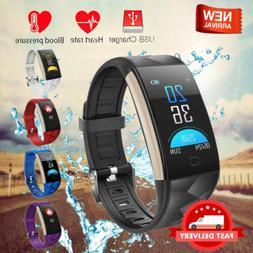 Smart Watch Fitness Health Tracker Blood Pressure Monitor Wr