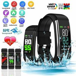Smart Watches Fitness Tracker Heart Rate Blood Pressure Oxyg