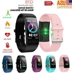 Smart Wristband Watch Heart Rate Monitor Fitness Tracker for