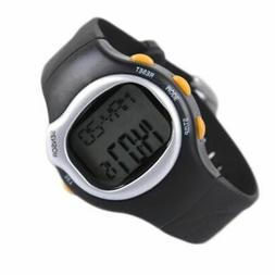 Sport Pulse Heart Rate Monitor Calories Counter Wrist Watch
