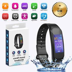 Sports Blood Pressure/Heart Rate Monitor Fitness Smart Watch