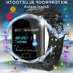 Sports Waterproof Activity Tracker Fitness Smart Watch Swimm