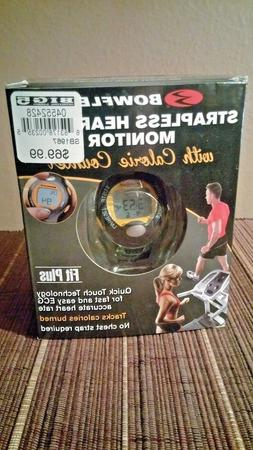 Bowflex Strapless Heart Rate Monitor And Calorie Counter Fit