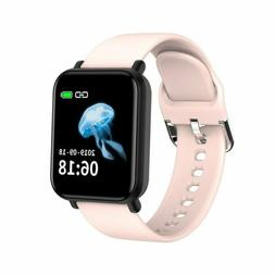 Touch Smart Watch Women Men Heart Rate Wristband For iPhone