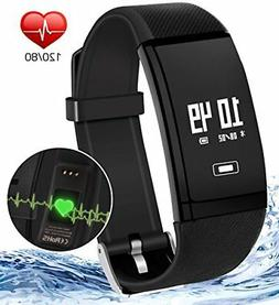 Fitness Tracker Watch With Heart Rate Monitor Waterproof Bra