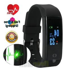 US Fitness Smart Band Watch Bracelet Wristband Blood Pressur