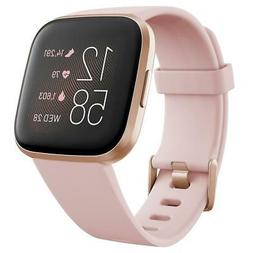 Fitbit Versa 2 Health and Fitness Smartwatch, Petal/Copper R