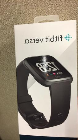 FitBit Versa, Slightly used. Original box, charger, two band