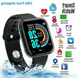 Waterproof Smart Watch Phone Mate For iphone IOS Android Sam