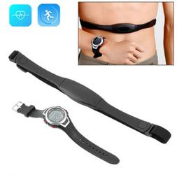 Wireless Heart Rate Monitor Chest Strap Watch Fitness Belt S