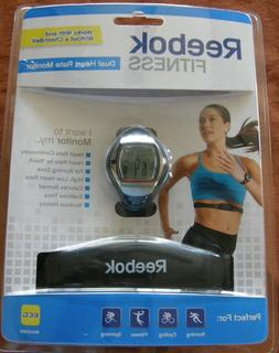 REEBOK WOMAN FITNESS DUAL HEART RATE MONITOR & CHEST STRAP,