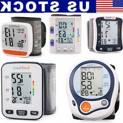 wrist blood pressure monitor sphygmomanometer cuff heart