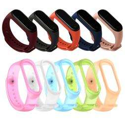 For Xiaomi MI Band 4 3 Strap Replacement Bracelet Silicone W