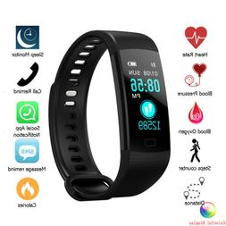 Y5 Smart Bracelet Wrist Watch Heart Rate Monitor Blood Press