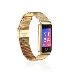 Dreamyth Y8 Smart Bracelet Wrist Watch Metal Heartrate Track