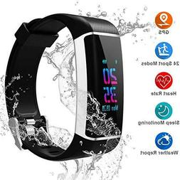 YOUNGDO Bluethooth Waterproof GPS Smart Fitness Tracker Watc